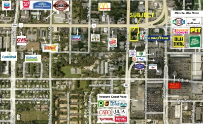 1.04 ACRE CORNER RE-DEVELOPMENT OPPORTUNITY - 2022 US Hwy 1