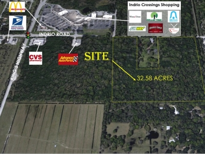 32.58 ACRES FOR SALE - 7075 Indrio Road