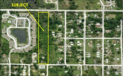 5 AC DEVELOPMENT SITE W/INCOME - 3650 47th Street
