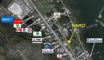 1.11 ACRES COMMERCIAL LAND FOR SALE - 1654 N.Central Ave., Sebastian, FL.