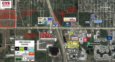 .65 ACRES I-95 INTERCHANGE DEVELOPMENT LOT  FOR SALE - Lot 17 - Americana Way