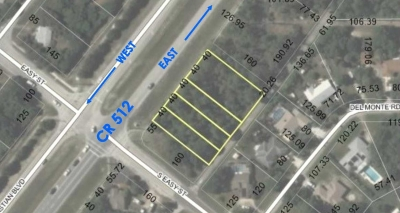 .73 ACRE COMMERCIAL LAND - 541, 561, 571 & 581 Sebastian Blvd.