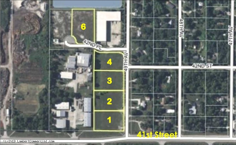 INDUSTRIAL PARK LOTS FOR SALE - LOT 1 - 4125 49TH AVE