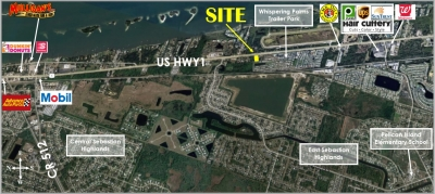 .90 ACRE US1 COMMERCIAL FOR SALE - 10435 US Hwy 1
