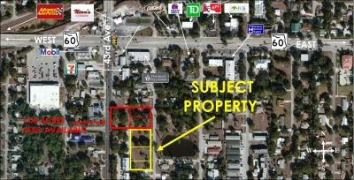 1.04 AC. DEVELOPMENT SITE ON 42ND AVE. FOR SALE - 1845, 1867 & 1895 42nd Ave. (Just South of SR60)