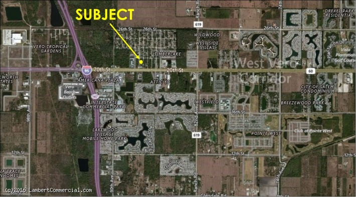 COMMERCIAL LOT BY I-95/SR60 FOR SALE - 2090 87th Court