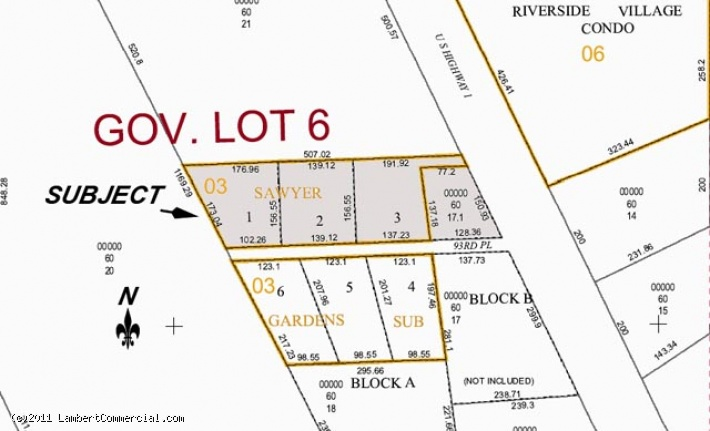 US HIGHWAY 1 - 1.84 ACRES FOR SALE - 9385 US Highway 1