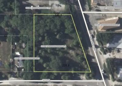 1 Acre Commercial on Old Dixie - 10th Place