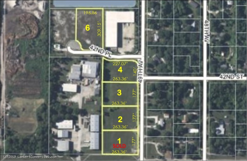 INDUSTRIAL PARK LOTS FOR SALE - LOT 3 - 4185 49th Ave.