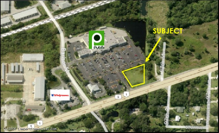 .90 ACRE RETAIL SITE FOR LEASE - US 1